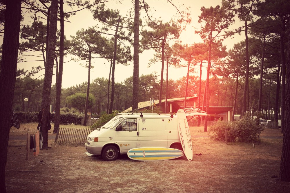 Home Is Where You Park It 3 Surfvan t4 roadtrip