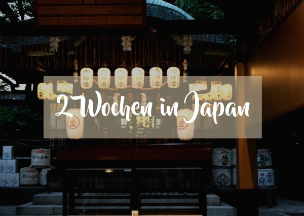2 Wochen in Japan Reiseroute 1